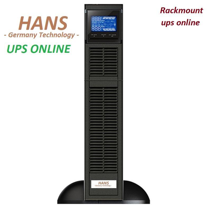 Bộ lưu điện - UPS online Hans 1KVA Rack