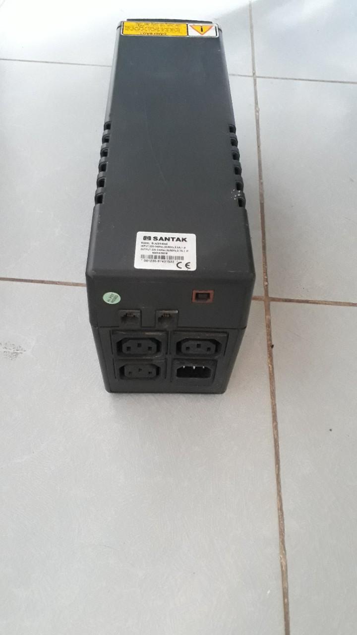 Thanh lý Bộ lưu điện santak BLazer 600EH - 300w.